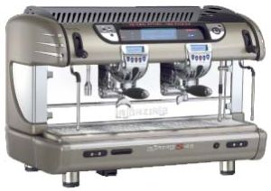LASPAZIALE S40 SELETRON 2 GROUP ELECTONIC INDENT ESPRESSO MACHINE